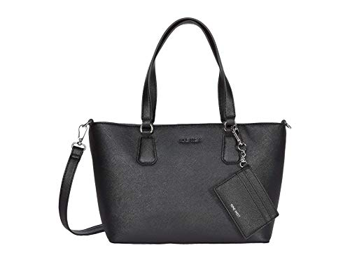 Nine West Marcelie Small Trap Tote Black 2 One Size