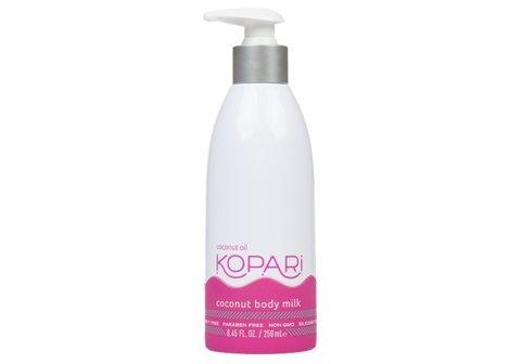 Kopari Coconut Body Milk Moisturizing Lotion   Made with Organic Coconut Oil - 8.45 Oz Pump Bottle