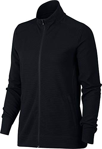 Nike Damen Jacke Dri-Fit UV, Black/(Black), S, AJ5272-010