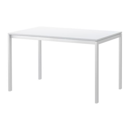 IKEA MELLTORP - Mesa, blanco - 125x75 cm