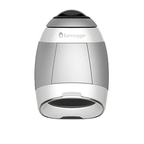 Tamaggo 360LiveCam - 360 camera met live-stream (titanium), witte parel