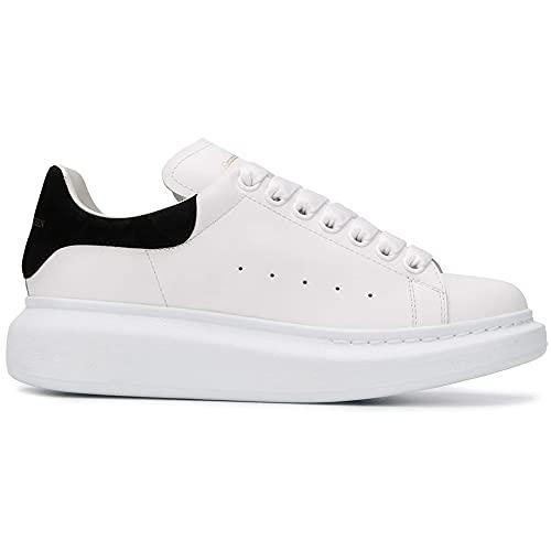 Alexander McQueen Oversized Sneaker White/Black 39.5 (US Women's 9.5) B (M)