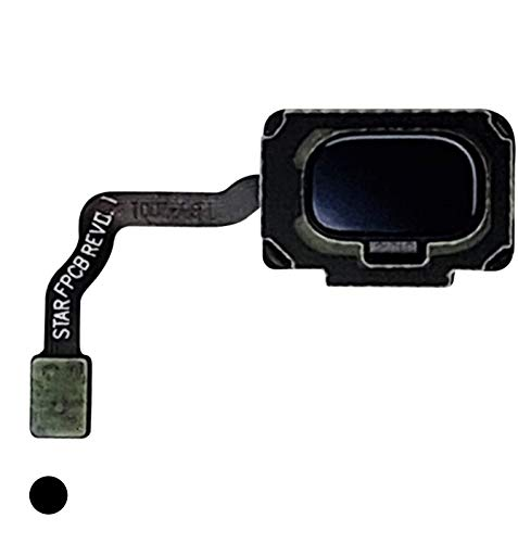 CELL4LESS Fingerprint Sensor with Flex Cable Connector Galaxy S9 & S9+ Plus Compatible (Midnight Black)