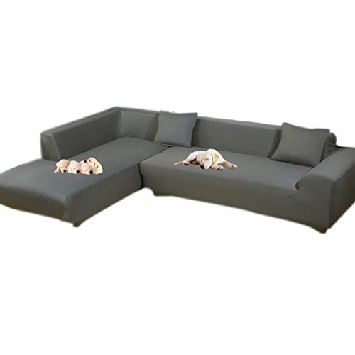 Taiyucover Anti-Skid Dustproof Sectional Corner L-Shaped Sofa Slipcovers