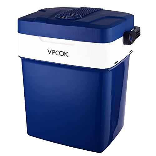 Nevera Portatil Electrica VPCOK Mini Nevera 29L, Nevera 12v Compresor y 220v...