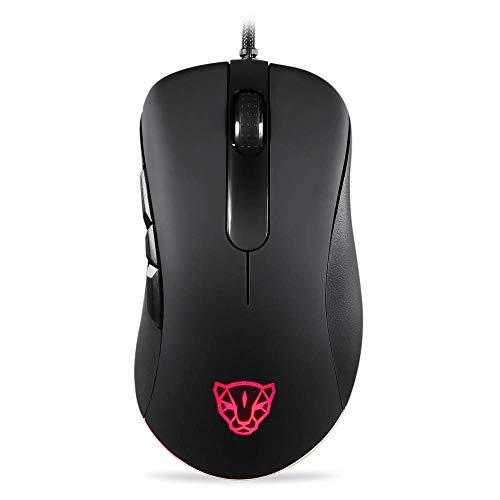 Mouse MOTOSPEED V100 Gamer RGB 6400DPI, Preto