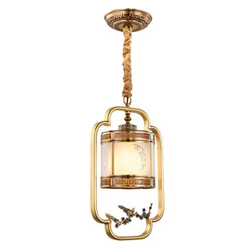 JIAWYJ YANGHONG-Araña de Estilo Industrial- Lámpara de araña de la araña de la cabecera de Cobre Estudio LED Lighting Light DESCORATIVO DE ARCHANTELIZA Interior/DDBBEMGD-1025 OUZHOUZD-5