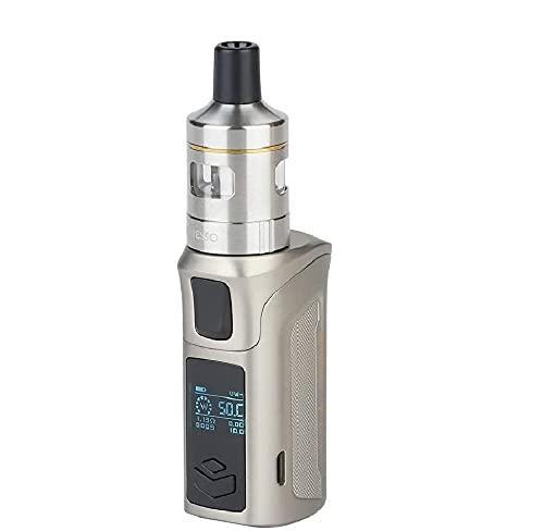Sigarette elettroniche Vaporesso Target Mini 2 Kit 50W integrato Batteria da 2000 mAh con bobina CCELL per nic-sali e CBD no Nicotina no liquido (Argento)