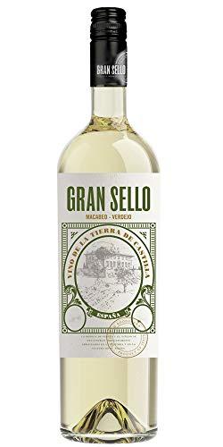 Weißwein Gran Sello Macabeo Verdejo 6 Flaschen Box VT La Mancha 75CL
