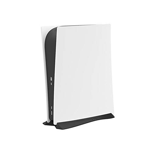 Portable Vertical Stand for PS5/Playstation 5 with Built-in Cooling Vents and Non-Slip Feet (Black)
