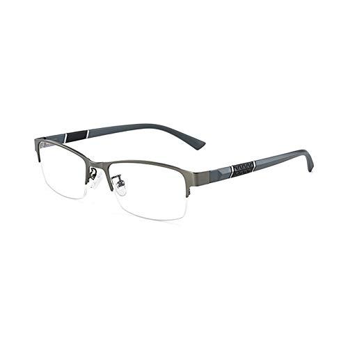 EYEphd 2021 Gafas de Lectura de Hyperopía Photocromic Smart, 1,56 Gafas de Sol Anti-Ultravioleta de Lente Resina Alta definición /UV400 Ampliación +0.75 a +3,Gris,+3.0
