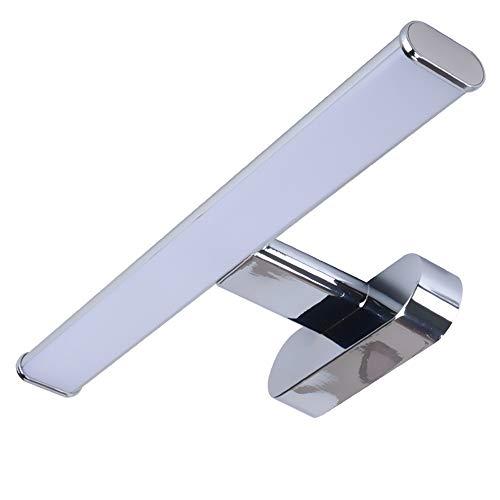 Trango TG2246 8 Watt 4000 K neutraal wit LED spiegelkast lamp badkamer armatuur kast verlichting make-up spiegel fotolijst