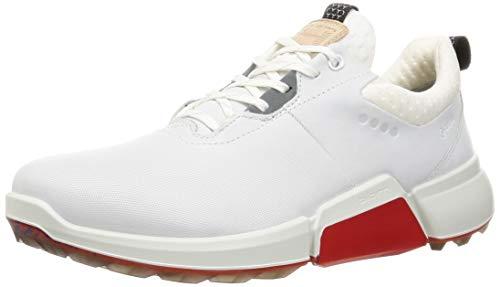 ECCO Men's Biom H4 Golf Shoe, WHIITE, 10 UK