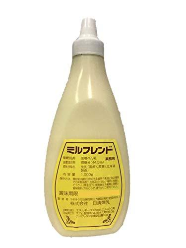 【業務用】ミルフレンド 1kg × 12本 国産・練乳・コンデンスミルク