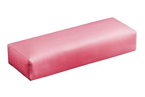 KM-Nails Reposamanos de piel sintética rosa