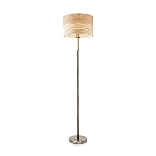 Preisvergleich Produktbild Stehleuchte beige LED Wohnzimmer kreative Nordic vertikale Eisen 150 * 35 cm Standleuchten & Deckenfluter