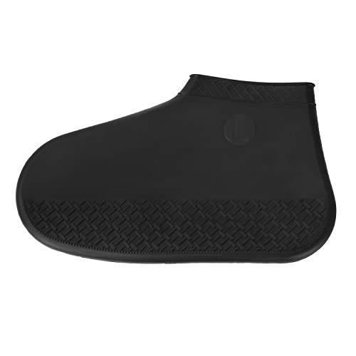 YJZQ Couvre-Chaussures de Pluie Homme Femme Couverture sur Chaussure en Silicone Couvre-Chaussures Portable Réutilisable Semelle Antidérapante pour Moto Cyclisme Voyage