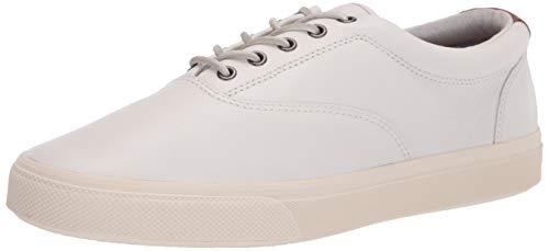 Sperry mens Striper Plushwave Cvo Sneaker, White, 11 US