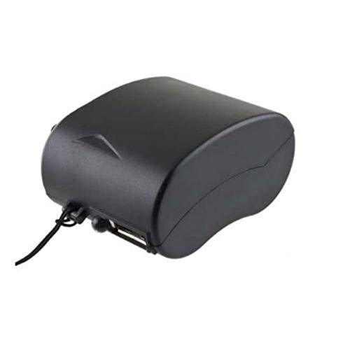 Deliu Mini Cargador USB Radio Linterna Cargador de Teléfono Cargador de Generador de Energía Negro