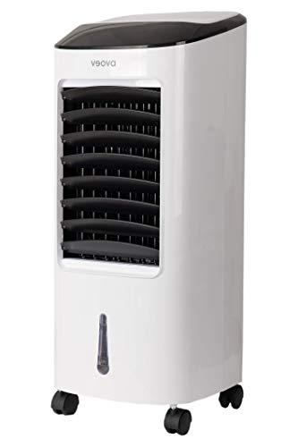 Air Cooler PRO Condizionatore portatile con funzione deumidificatore, 3 in 1, refrigeratore, deumidificatore e purificatore d'aria, climatizzatore mobile con timer e telecomando, ottimale fino a 75 m2
