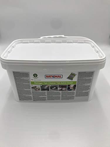 Rational 150 Stück Reiniger-Tab Active Green für iCombi Pro und iCombi Classic, ideal für Kindergärten, Schnell Restaurant, Kantinen, Lebenshilfen usw.