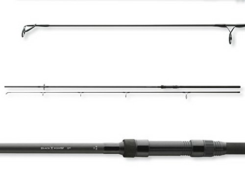Daiwa, Black Widow - Canna da pesca per carpa, 1,4 kg, 3,6 metri