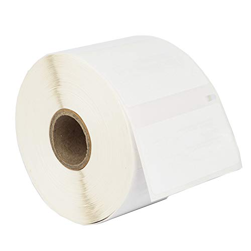 """HOUSELABELS Compatible DYMO 30334 Multipurpose Labels (2-1/4"""" x 1-1/4"""") with Removable Adhesive Compatible with Rollo, DYMO LW Printers, 1 Roll / 1,000 Labels per Roll"""