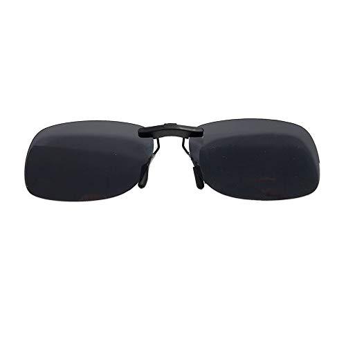 イーチャンス ポラライトHDオーバーレンズ 偏光サングラス 専用ケース付き ポラライト クリップ式 サングラス 眼鏡の上から 紫外線カット 男女兼用 自転車 釣り 野球 テニス ゴルフ スキー ランニング ドライブ polaryte overlenz
