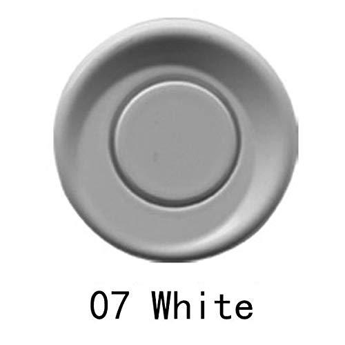 NICOLIE Sensores Dobles del Kit del Sistema del Aparcamiento del Coche De La CPU 4 con La Pantalla Led - Blanco