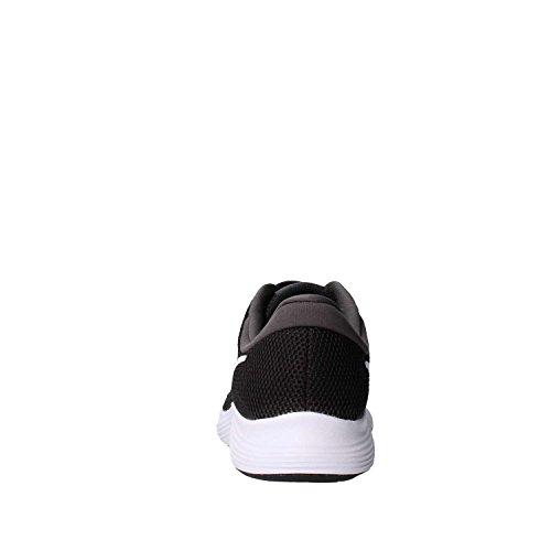 Nike Unisex-Kinder Laufschuh Revolution 4, Schwarz - 3