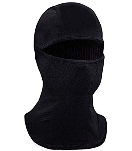 Self Pro Winter Balaclava Ski Mask for Cold Weather - Men & Women Windproof Thermal Face Mask for Skiing, Snowboarding, Cycling & Motorcycle Riding Black
