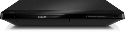 Philips BDP2180/12 3D-Blu-ray Player mit Full HD Wiedergabe (My Remote, DivX Plus HD, Simply Share), Schwarz