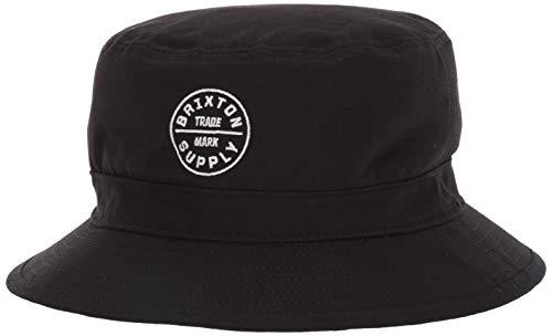 Brixton Men's Oath Bucket HAT, Black, L
