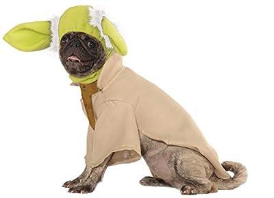 Rubie's Star Wars Yoda Pet Costume, X-Large from Rubies Decor