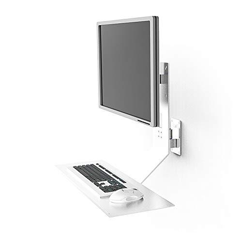 FDR Display Rack Met Universele Toetsenbord Muis Ondersteuning Staand Werkstation Machine Wandstandaard L20.02.20