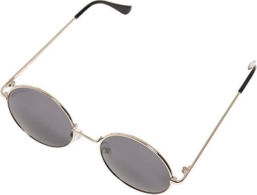 Urban Classics 107 Sunglasses UC, Gafas Unisex Adulto, Oro/Negro, One Size