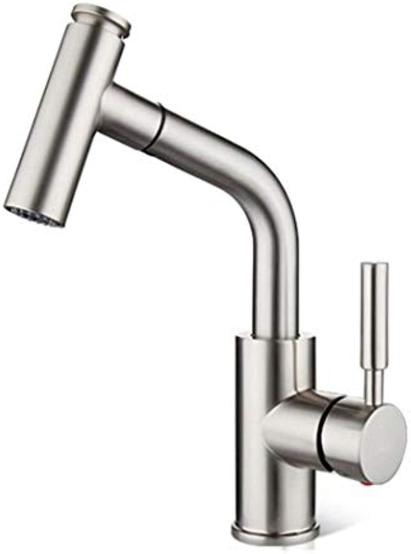 Waschtischarmatur Spültisch Badarmatur Kupfer Warmes Und Kaltes Ziehen Küchenhahn Waschbecken Wasserhahn Waschbecken Wasserhahn