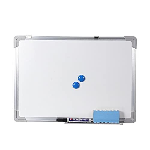 50x35cm Pizarra magnética Oficina Escuela Aviso ABS ABS que cuelga Secado Limpiar Tablero de escritura Portátil (Color : Single side)