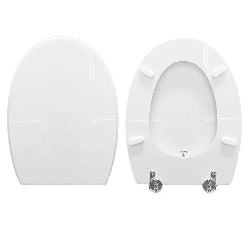 WC-Sitz TONDA IDEAL STANDARD kompatibel weiß glänzend Polyester
