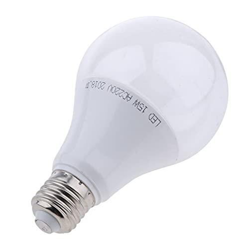 B Blesiya E27 Pflanzenlampe LED Pflanzenlampen Wachstum Tageslicht Pflanzenleuchte für Haus Garten Zimmerpflanzen - Warmes Weiß_15W