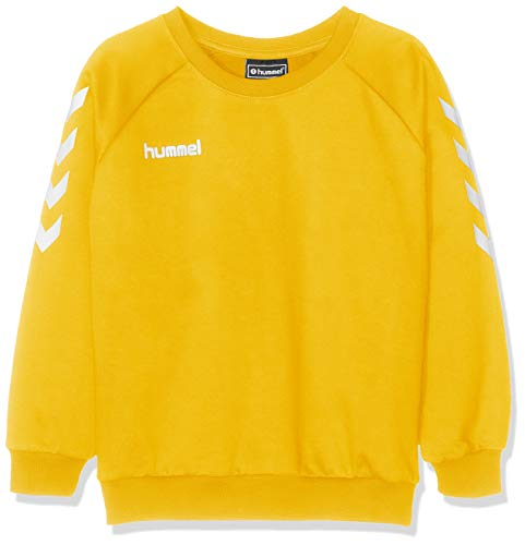 hummel Kinder Hmlgo Kids Cotton Sweatshirt, Gelb (Sports Gelb), 164