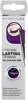 Maybelline Eyestudio Lasting Drama Gel Eyeliner 24H - Ultra Violet 10