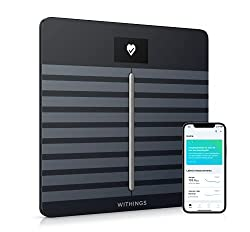 Withings/Nokia  smart scale syncs with apple watch plus more than 100 top health and fitness apps