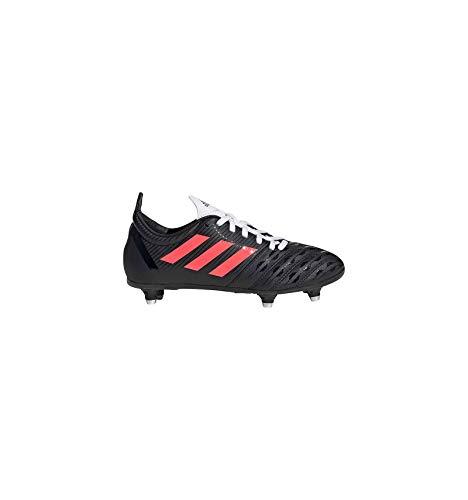 adidas Malice Junior (SG), Botas de Rugby, NEGBÁS/ROSSEN/Balcri, 38 2/3 EU