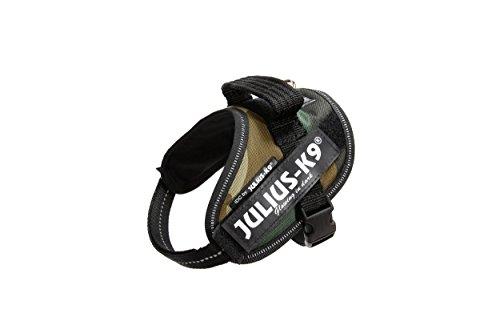 Julius-K9, 16IDC-C-MM, IDC-Powergeschirr, Hundegeschirr, Größe: XS/Mini-Mini, camouflage
