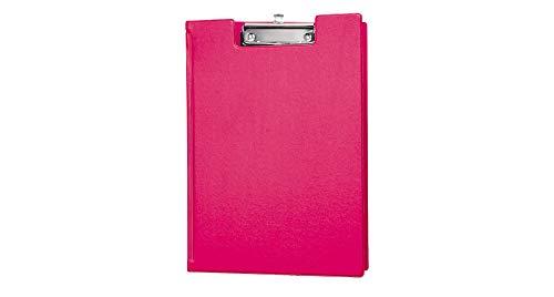 Maul 2339222 - Cartella portadocumenti con rivestimento in pellicola, formato A4 verticale, con occhiello scorrevole, 1 pezzo, colore: Rosa