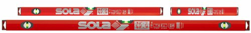 Sola BigX set - aluminium waterpas BigX 30 - BigX 60 - BigX3 100