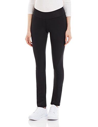 adidas Damen Sporthose Lang Workout Pants Skinny Hose, Black, S