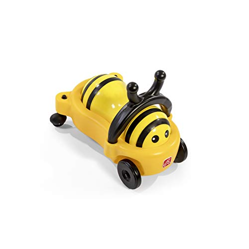 Step2 Bouncy Buggy Bumblebee Bouncer | Yellow Ride On Toy for Toddlers