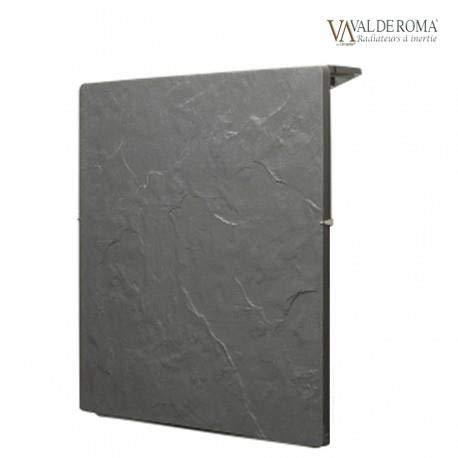 Valderoma TACTILO - Radiador de inercia (800 W, cuadrado, 50 x 50 cm), color negro